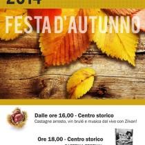 FESTA D'AUTUNNO <br> 1 Novembre 2014 – Pienza