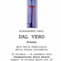 Fabbriceria contemporanea <br> DAL VERO di Alessandro Ceni