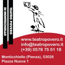 Domenica 7 Dicembre 2014 dalle ore 17.30 <br> Inizio della stagione culturale a Monticchiello