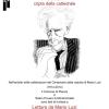 Mario Luzi e poesie <br> Sabato 29 novembre 2014 ore 18.00 <br> Cripta della Chiesa Cattedrale, Pienza