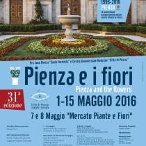 Pienza e Fiori 2016 <br> 1-15 Maggio 2016