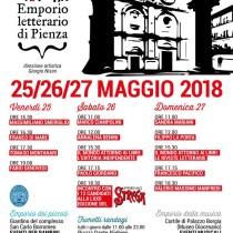 Emporio Letterario Pienza <br> 25-26-27 Maggio 2018