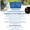 TREKKING LA BUCA DEL BEATO – Domenica 23 Settembre 2018