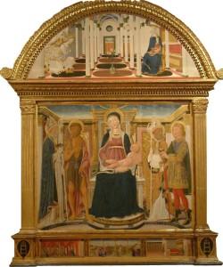 Vecchietta_Madonna col Bambino in trono 1
