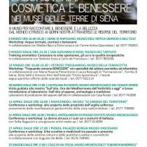 8 Marzo – 25 Maggio 2013 <br> Erboristeria cosmetica e benessere nei Musei delle Terre di Siena