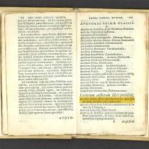 Esposizione bibliografica a Pienza:<br>Enea Silvio Piccolomini, gli scritti sul concilio di Basilea <br>e l'Indice dei libri proibiti