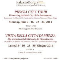 PIENZA CITY TOUR/ VISITA DELLA CITTA'