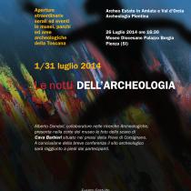 Alla scoperta dell'Archeologia pientina <br> Sabato 26 Luglio 2014, ore 16.30