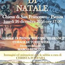 Concerto di Natale <br> Chiesa di San Francesco <br> Lunedì 26 Dicembre, ore 17.00