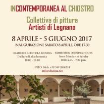 Incontemporanea al Chiostro <br> 8 APRILE – 5 GIUGNO 2017