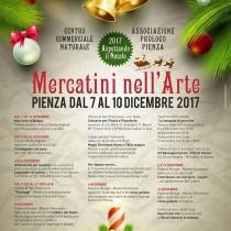 Mercatini nell'Arte <br> Dal 7 al 10 Dicembre 2017 <br> Pienza
