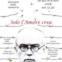 SOLO L'AMORE CREA <br> Pienza, Chiesa di San Carlo