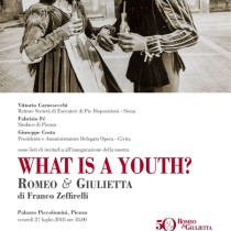WHAT IS A YOUTH?
